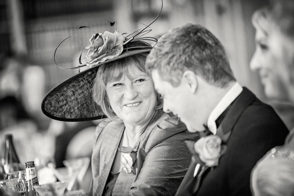 mother in law laughing at groom